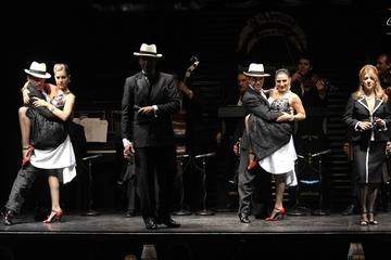 Spectacle de tango La Ventana avec dîner en option à Buenos Aires