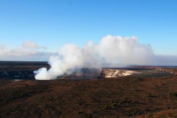 ハワイ島小グループツアー:ハワイ火山国立公園とコナコーヒー農園