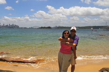 Excursão a pé no Parque Nacional do Porto de Sydney
