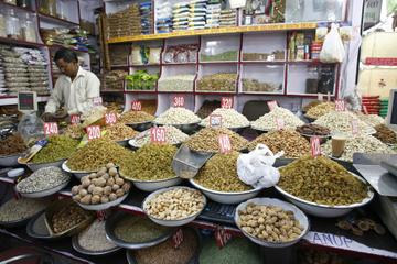 Delhi de nuit: visite du quartier Chandni Chowk et dîner