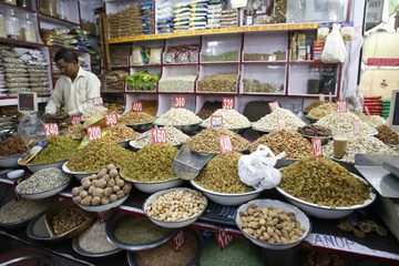 Deli à noite: Excursão por Chandni Chowk com jantar