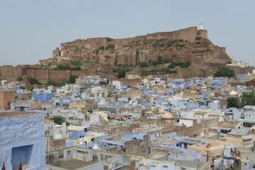 Jodhpur - Mehrangarh the Sita wayCook in a Blue House