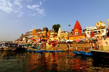 Visite aérienne sur deux nuits, de Varanasi et de Sarnath au départ...
