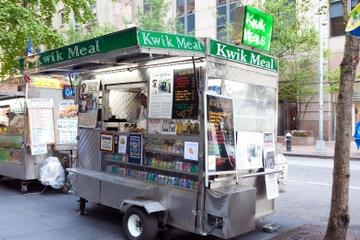 Stadswandeling New York City met proeverijen bij eetkramen
