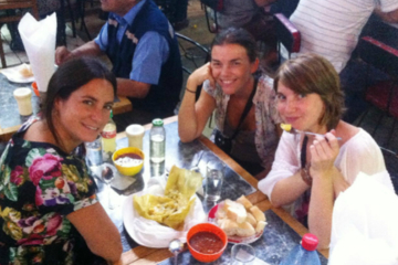 Recorrido para grupos pequeños por mercados de alimentos en Santiago...