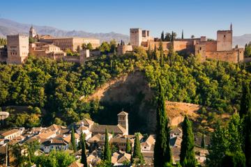 Landausflug Malaga: Keine-Warteschlange-Ticket für die Alhambra und...