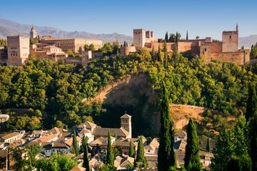 Utflykt iland i Malaga: Rundtur i Granada med snabbinträde till ...