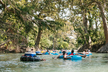 San Marcos River Half-Day Tubing Experience from Austin