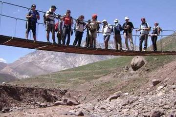 Excursão de Trilha pelos Andes saindo...