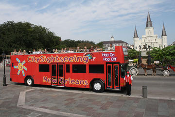 City Sightseeing New Orleans hop on hop off-rundtur