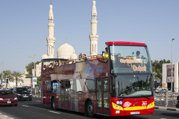 Dubai och Sharjah Super Saver med City Sightseeing: Hoppa på/hoppa ...
