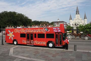 Excursão turística por Nova Orleans em ônibus panorâmico
