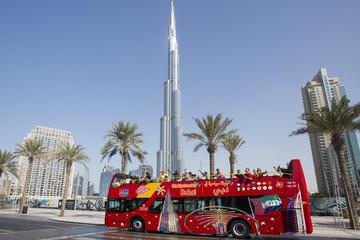Hoppa på/hoppa av-rundtur i Dubai med City Sightseeing