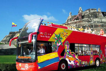 Tour Hop-On Hop-Off di Cartagena con City Sightseeing