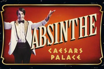 Absinthe im Caesars Palace in Las Vegas