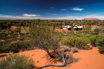 Circuit avec camping à Uluru (Ayers Rock) en petit groupe
