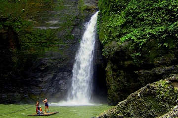 Pagsanjan-Wasserfall-Abenteuer (Start in Manila)