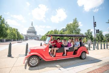Capitol Hill and Monuments Tour by Electric Cart