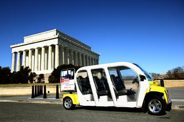 Capitol Hill und Tour zu den Denkmälern von DC im Elektrowagen