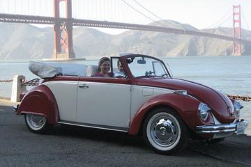 3-timers tur i San Francisco på egen hånd i en klassisk VW boble
