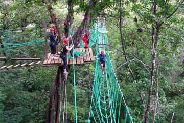 Adventure Park High Ropes Course from Puntarenas