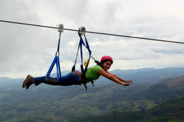 Curso de tirolina Superman en Adventure Park Costa Rica