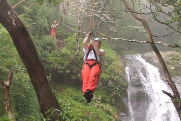 Puntarenas Shore Excursion: 25 Cables Over 11 waterfalls Zipline Tour
