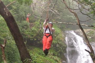 Waterfall Zipline Tour from Puntarenas