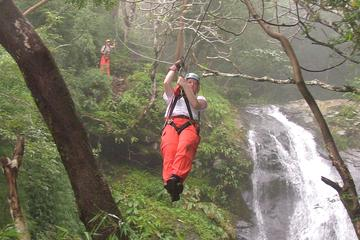 Zipline Tour from Guanacaste: 25 Cables Over 11 Waterfalls