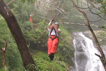 Zipline Tour from La Fortuna: 25 Cables Over 11 Waterfalls