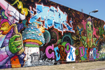 Recorrido artístico de graffiti para...