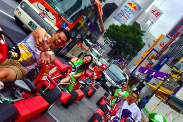 Go-Kart Street Tour Adventure in Tokyo with Guide