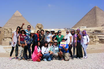 Private Full Day Tour Giza Pyramids Sphinx Saqqara and Memphis including Lunch