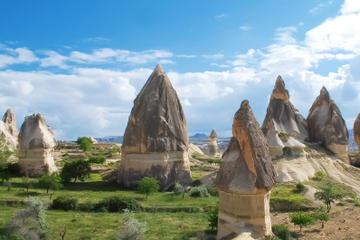 Excursion sud de la Cappadoce: Cavusin, Vallée rouge, cité...