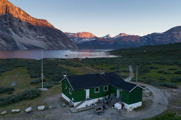 Qooqqut - The Restaurant in the fiord - Private charter 1-6 Passengers - Cabin boat