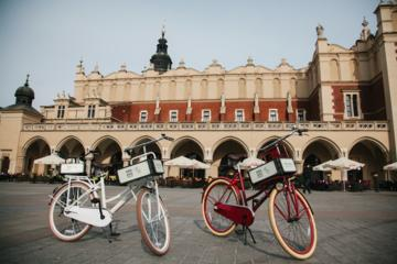 Privé-sightseeingtour door Krakau per fiets