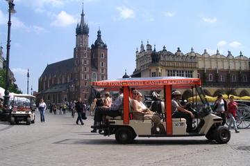 Privétour: Krakau-stadstour per elektrische auto met gids
