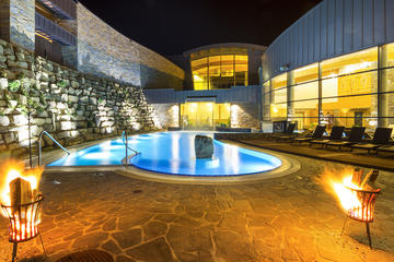 Thermal Pools and Spa Entrance from ...