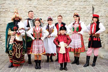 Traditionell polsk föreställning och middag i Krakow