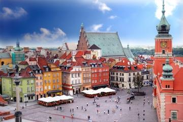 Visite privée: visite de Varsovie à pied