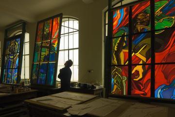 Workshop de vitrais poloneses em Cracóvia