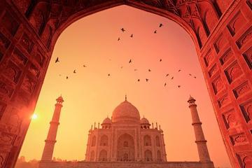 Agra Day Tour with Taj Mahal Sunrise and Sunset