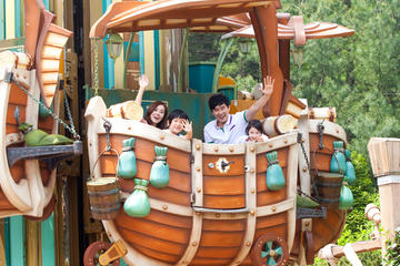 Admission to Everland Theme Park or Caribbean Bay Water Park with...
