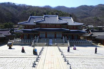 Combinación cultural coreana: Visita al set de televisión MBC Dramia...