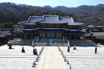 Korean Cultural Combo: Yongin MBC Dramia TV Set Tour and Korean Folk...