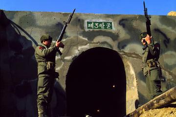Koreanische Entmilitarisierte Zone und JSA Panmunjom Ausflug von Seoul