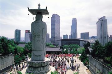 Tour del quartiere Gangnam di Seul con visita all'acquario COEX e