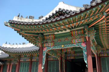 Visite du palais coréen et du marché de Séoul, incluant le quartier...
