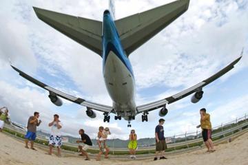 Amazing Plane Spotting at Maho Beach