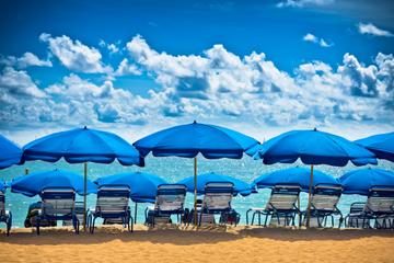 Excursion d'une demi-journée à la plage de la Baie Orientale et à...
